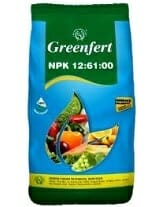 Greenfert Water soluble fertilizers NPK 12-61-00