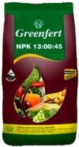 Greenfert Water soluble fertilizers NPK 13-00-45